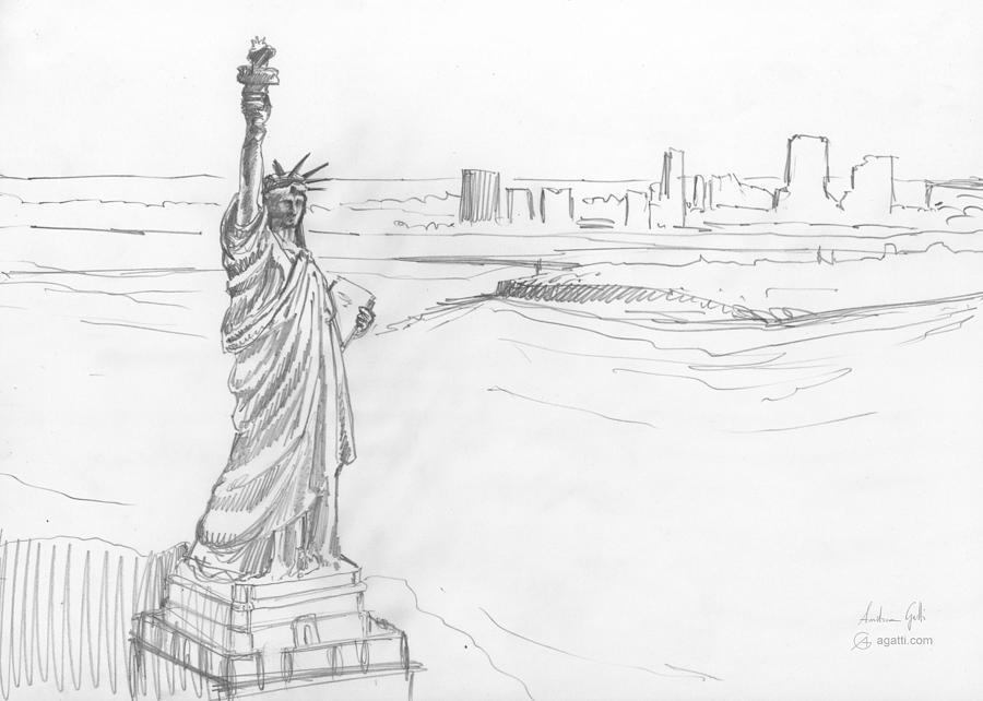 New York City Drawing Drawing