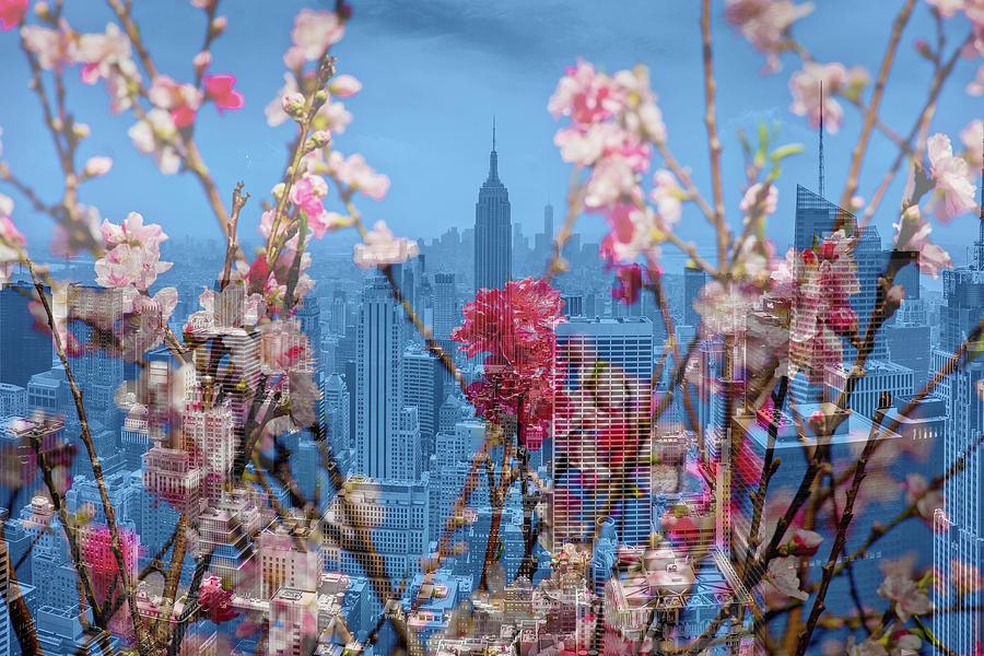 New York City Floral  by Az Jackson