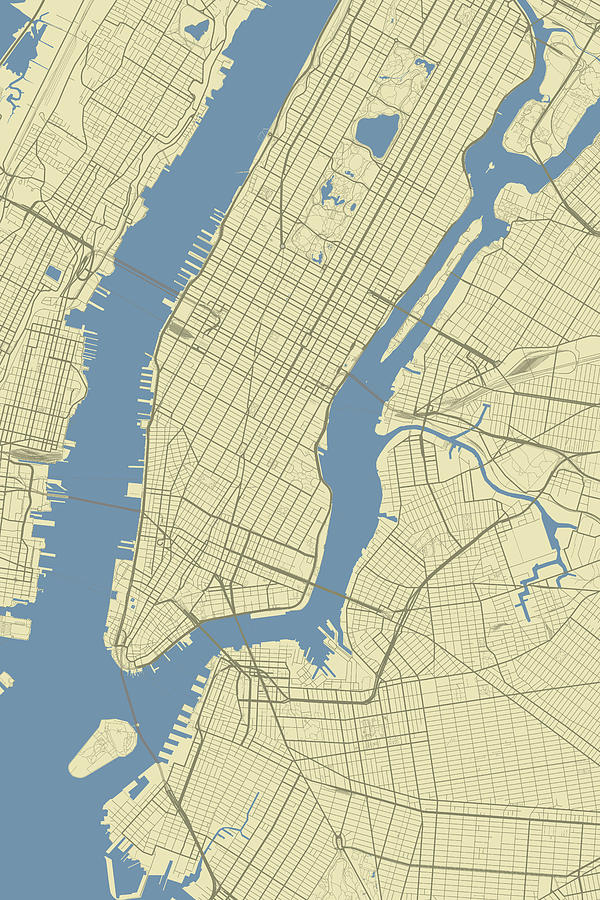 New York City New York Usa Clic Map by Jurq Studio Usa Map With New York City on usa map with new mexico, usa map with new hampshire, usa map with new england,