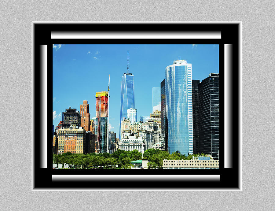 New York City Skyline by Richard Risely