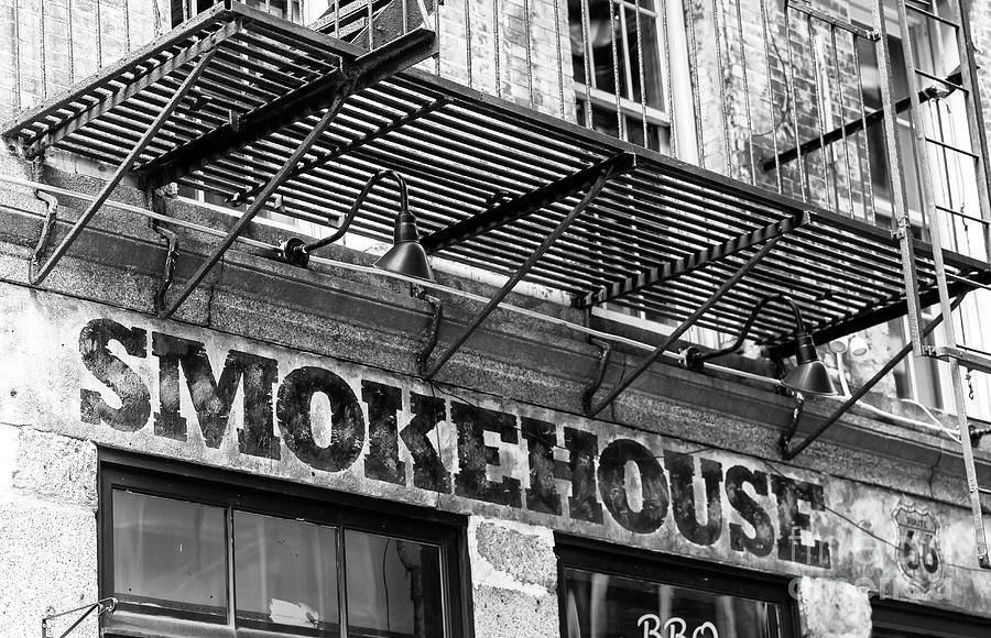 Smokehouse Photograph - New York City Smokehouse by John Rizzuto