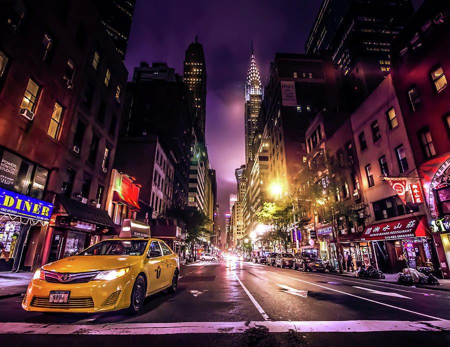 New York Photograph - New York City Street by Nicklas Gustafsson