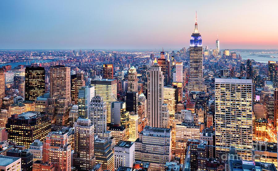Usa Photograph - New York City, Usa by Ttstudio