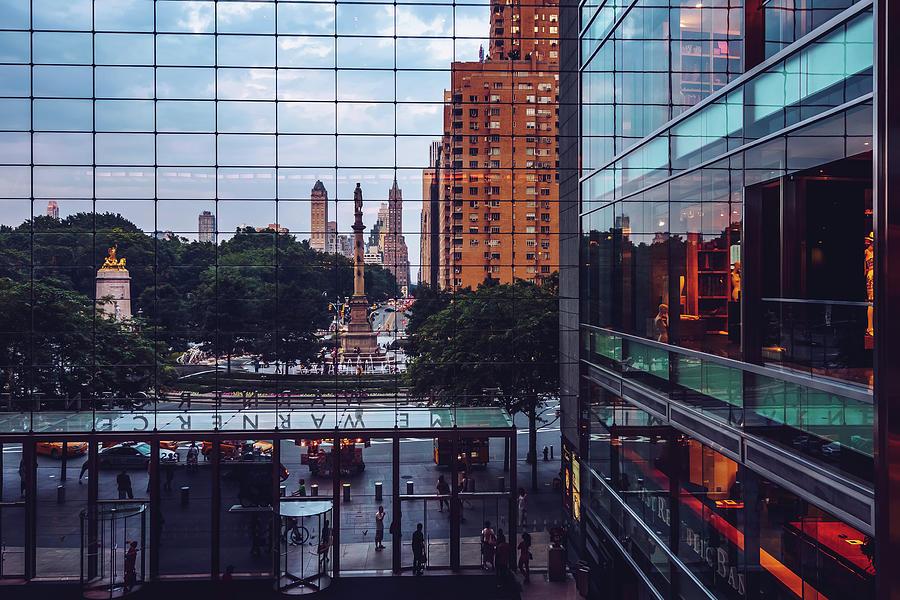 New York - Columbus Circle by Alexander Voss