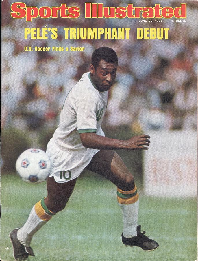 New York Cosmos Pele... Sports Illustrated Cover Photograph by Sports Illustrated