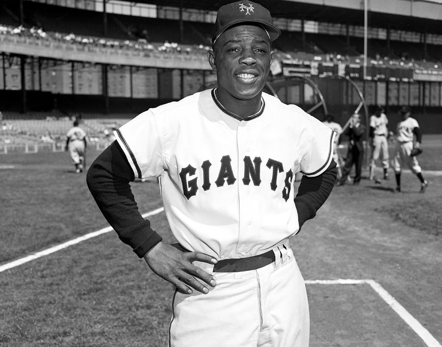finest selection 39256 feb12 New York Giants Baseball Willie Mays by New York Daily News