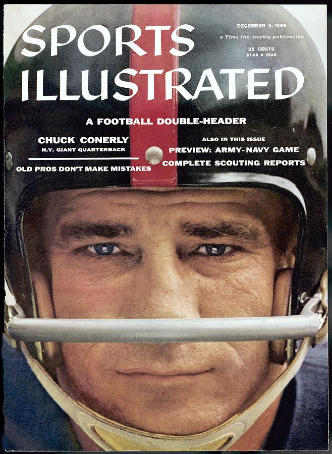 New York Giants Chuck Conerly Sports Illustrated Cover Photograph by Sports Illustrated