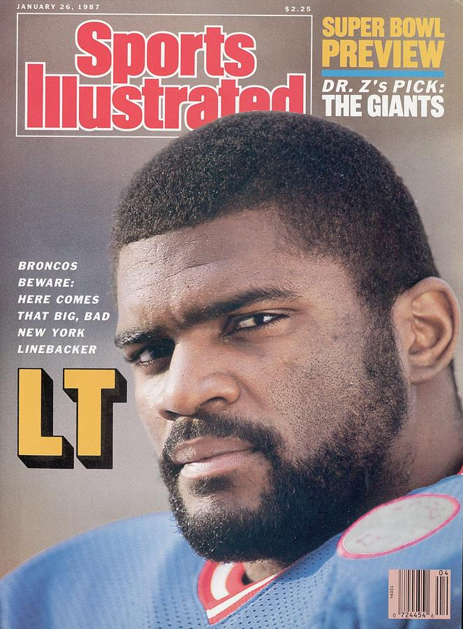 New York Giants Lawrence Taylor Sports Illustrated Cover Photograph by Sports Illustrated