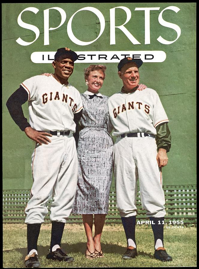 New York Giants Willie Mays, Loraine Day Durocher And Sports Illustrated Cover Photograph by Sports Illustrated