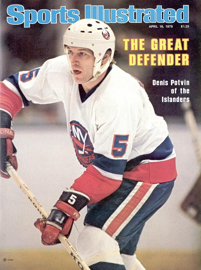 New York Islanders Denis Potvin... Sports Illustrated Cover Photograph by Sports Illustrated
