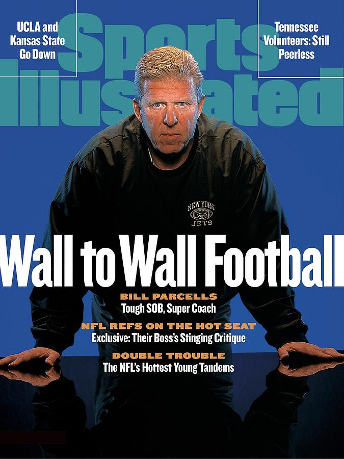 New York Jets Coach Bill Parcells Sports Illustrated Cover Photograph by Sports Illustrated
