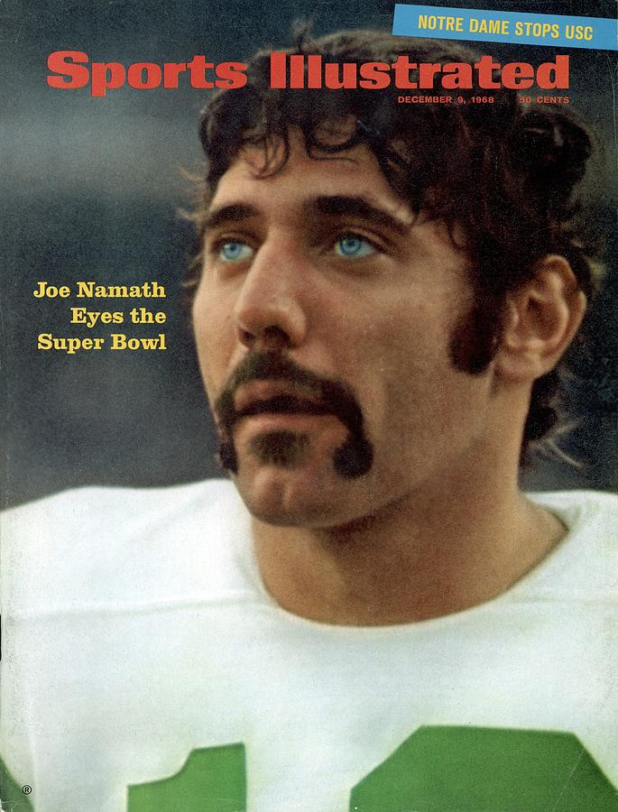 New York Jets Qb Joe Namath Sports Illustrated Cover Photograph by Sports Illustrated