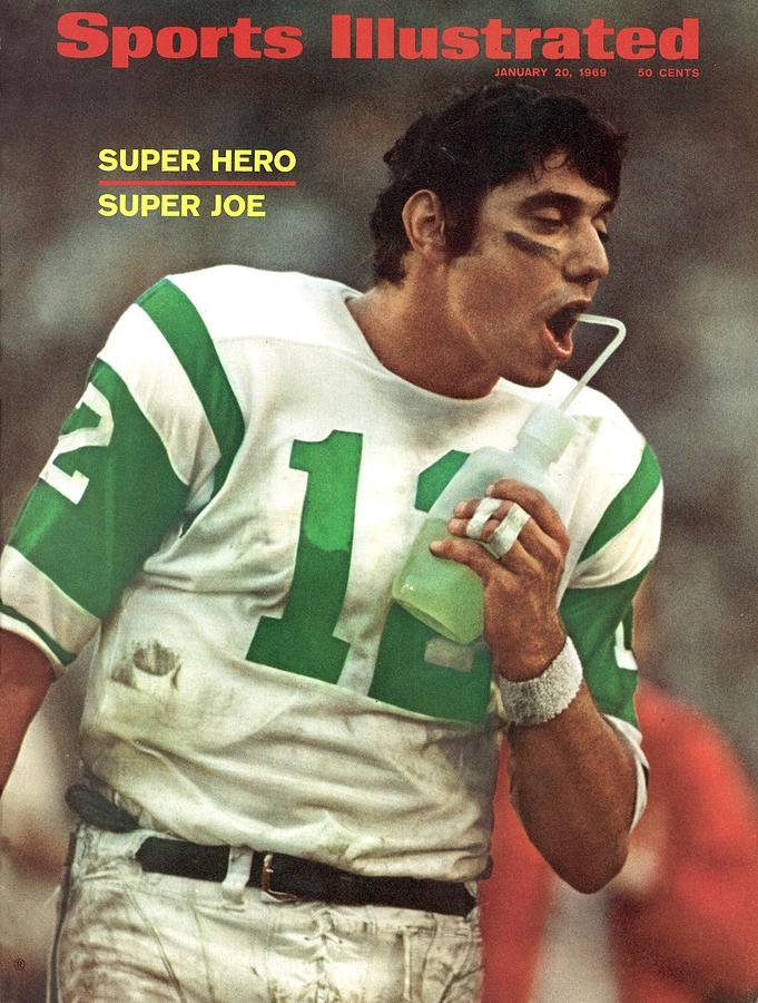 New York Jets Qb Joe Namath, Super Bowl IIi Sports Illustrated Cover Photograph by Sports Illustrated