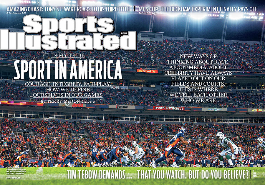 New York Jets V Denver Broncos Sports Illustrated Cover Photograph by Sports Illustrated