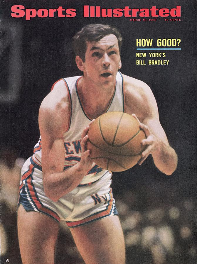 New York Knicks Bill Bradley Sports Illustrated Cover Photograph by Sports Illustrated