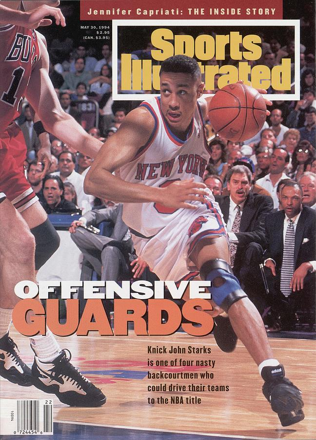 New York Knicks John Starks, 1994 Nba Eastern Conference Sports Illustrated Cover Photograph by Sports Illustrated