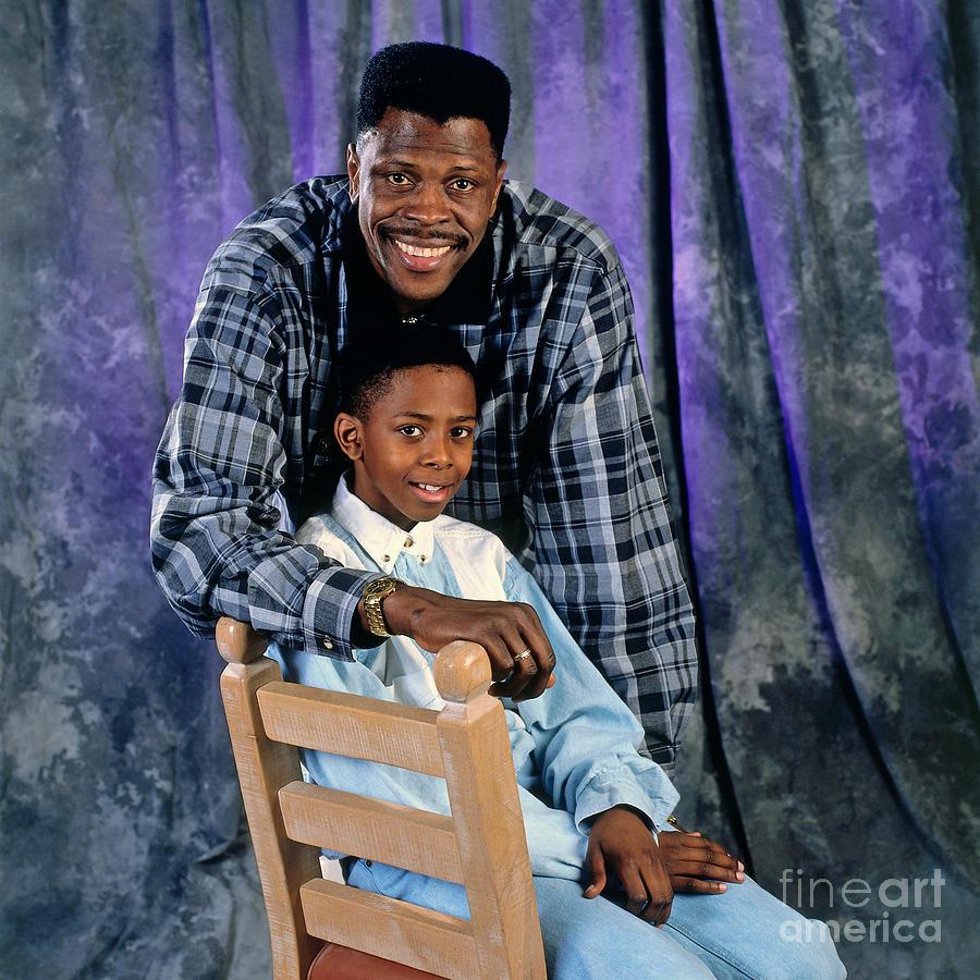 New York Knicks Patrick Ewing Photograph by Andrew D. Bernstein