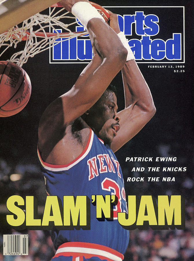 New York Knicks Patrick Ewing Sports Illustrated Cover Photograph by Sports Illustrated