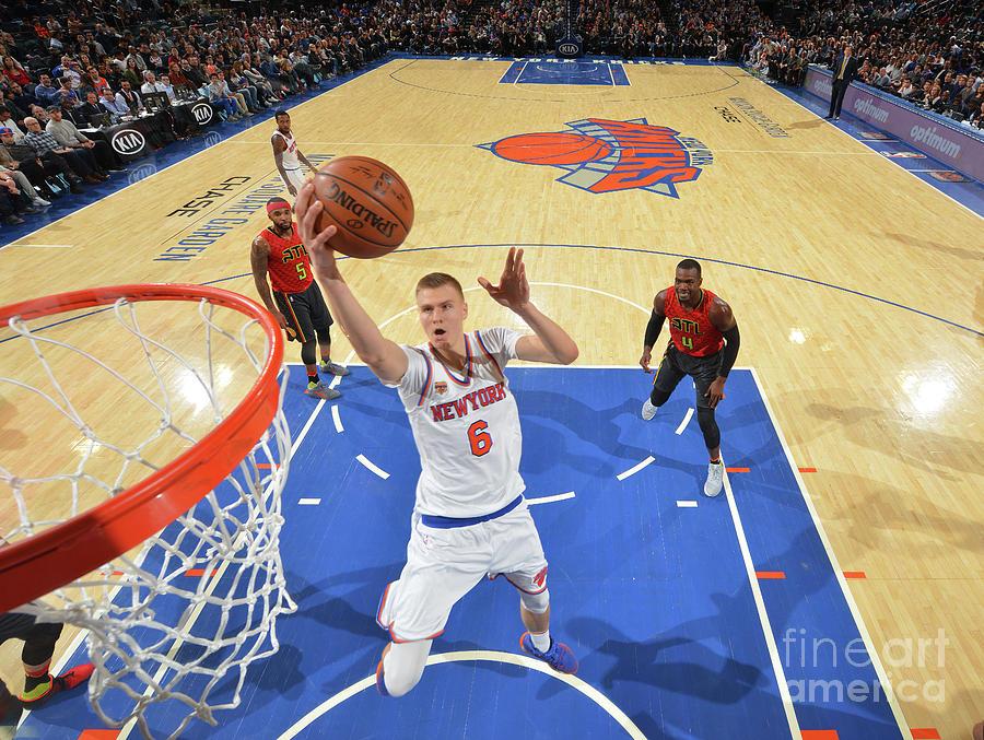 New York Knicks V Atlanta Hawks Photograph by Jesse D. Garrabrant