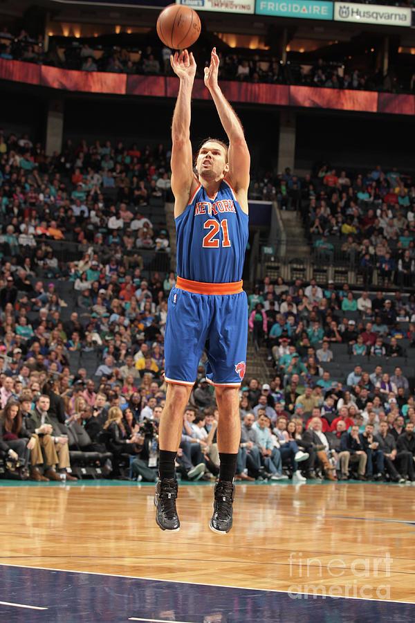 New York Knicks V Charlotte Hornets Photograph by Brock Williams-smith