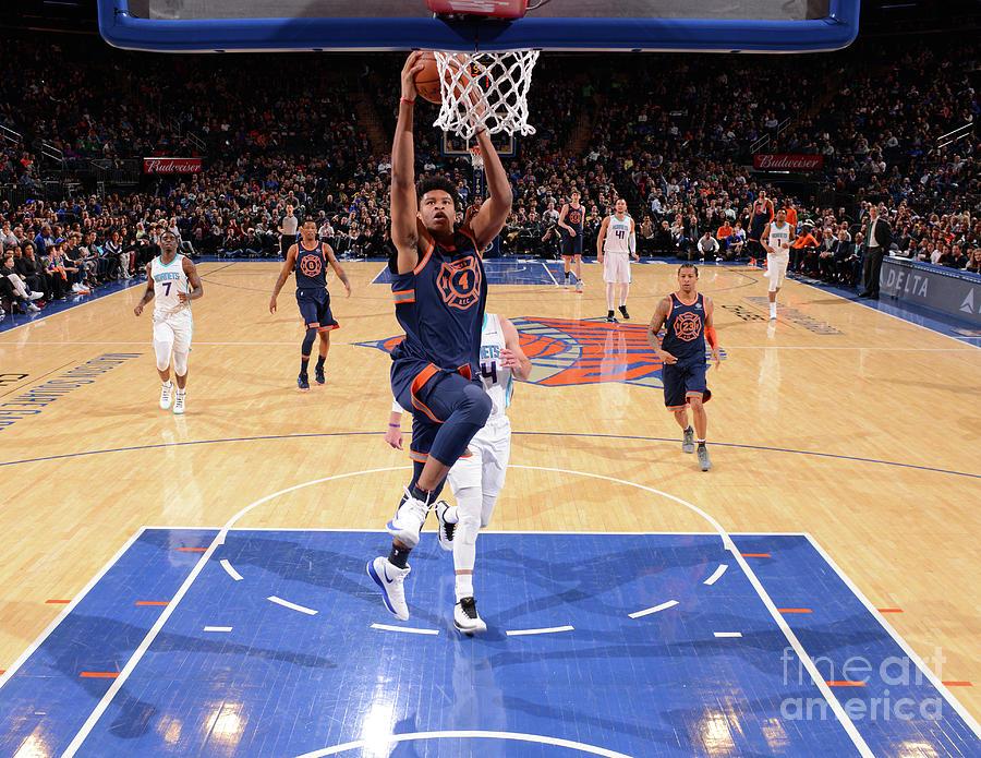 New York Knicks V Charlotte Hornets Photograph by Jesse D. Garrabrant