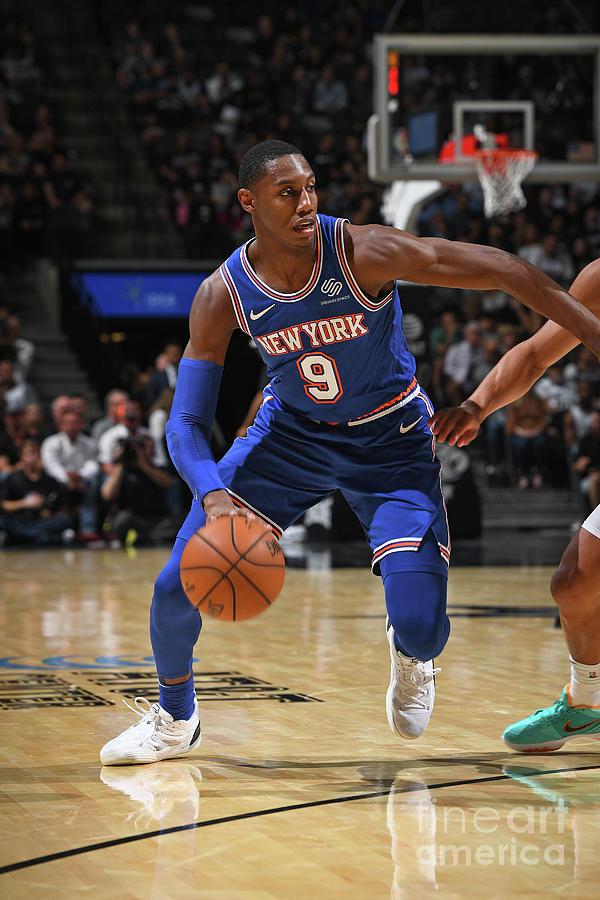 New York Knicks V San Antonio Spurs Photograph by Garrett Ellwood