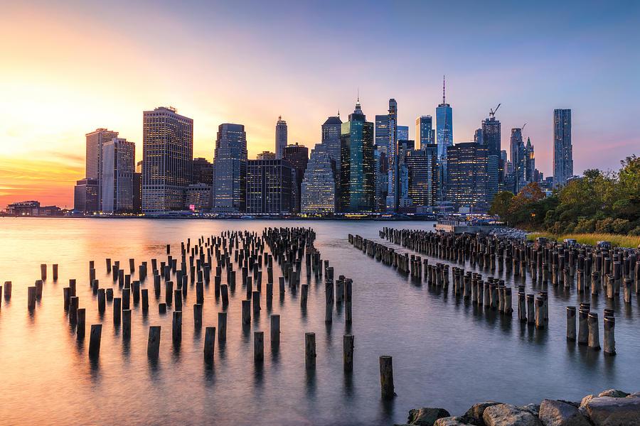 New York Lower Manhattan by Mike Centioli