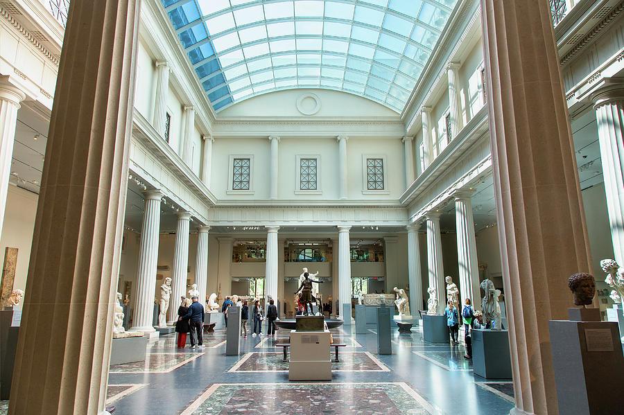 New York, Metropolitan Museum Of Art Photograph by Sylvain Sonnet