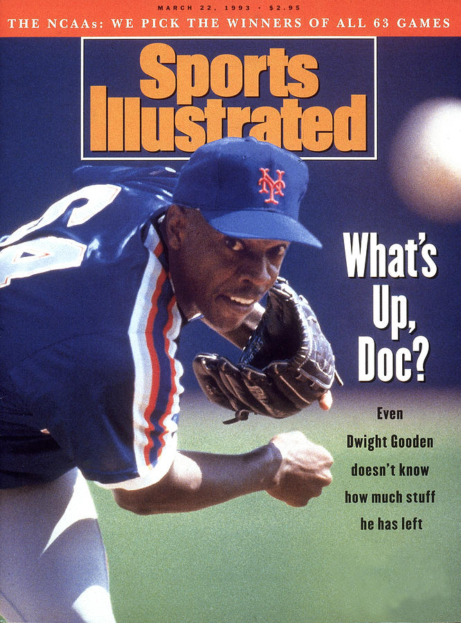 New York Mets Dwight Gooden... Sports Illustrated Cover Photograph by Sports Illustrated