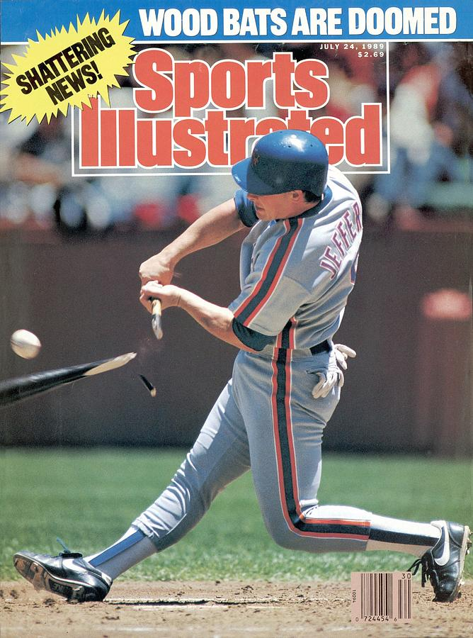 New York Mets Gregg Jeffries... Sports Illustrated Cover Photograph by Sports Illustrated