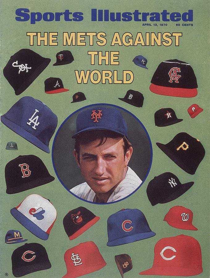 New York Mets Jerry Koosman Sports Illustrated Cover Photograph by Sports Illustrated