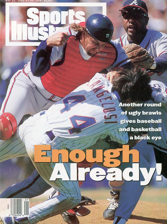 New York Mets John Cangelosi... Sports Illustrated Cover Photograph by Sports Illustrated