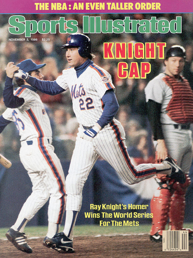 New York Mets Ray Knight, 1986 World Series Sports Illustrated Cover Photograph by Sports Illustrated