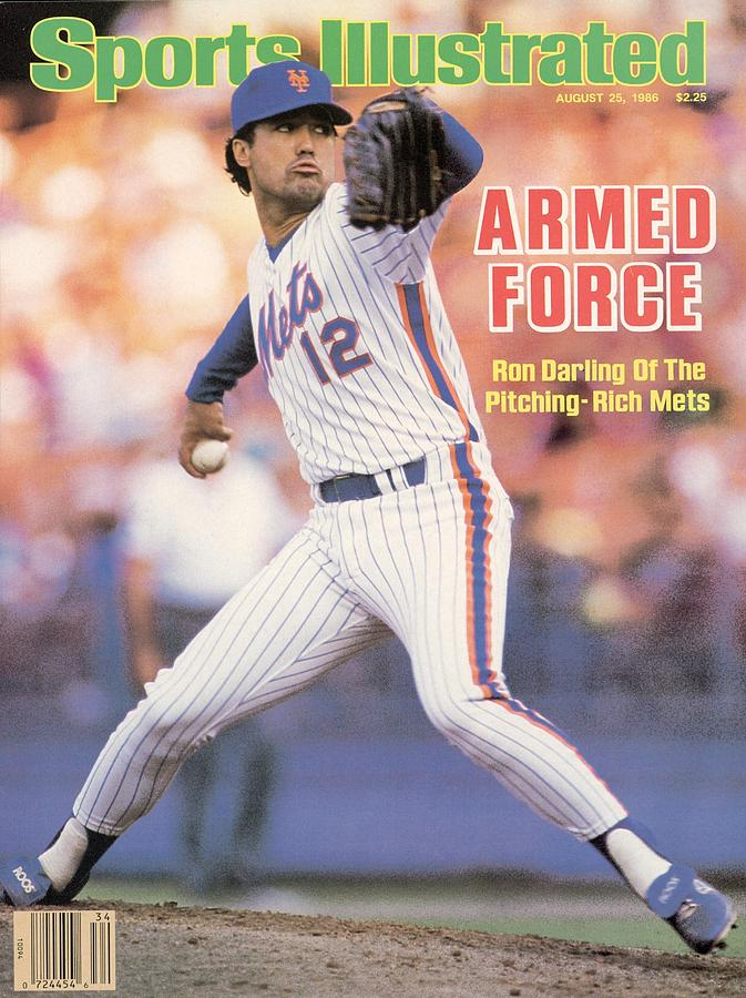 New York Mets Ron Darling... Sports Illustrated Cover Photograph by Sports Illustrated