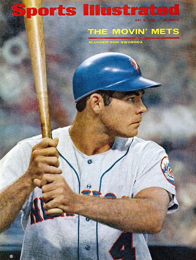 New York Mets Ron Swaboda Sports Illustrated Cover Photograph by Sports Illustrated