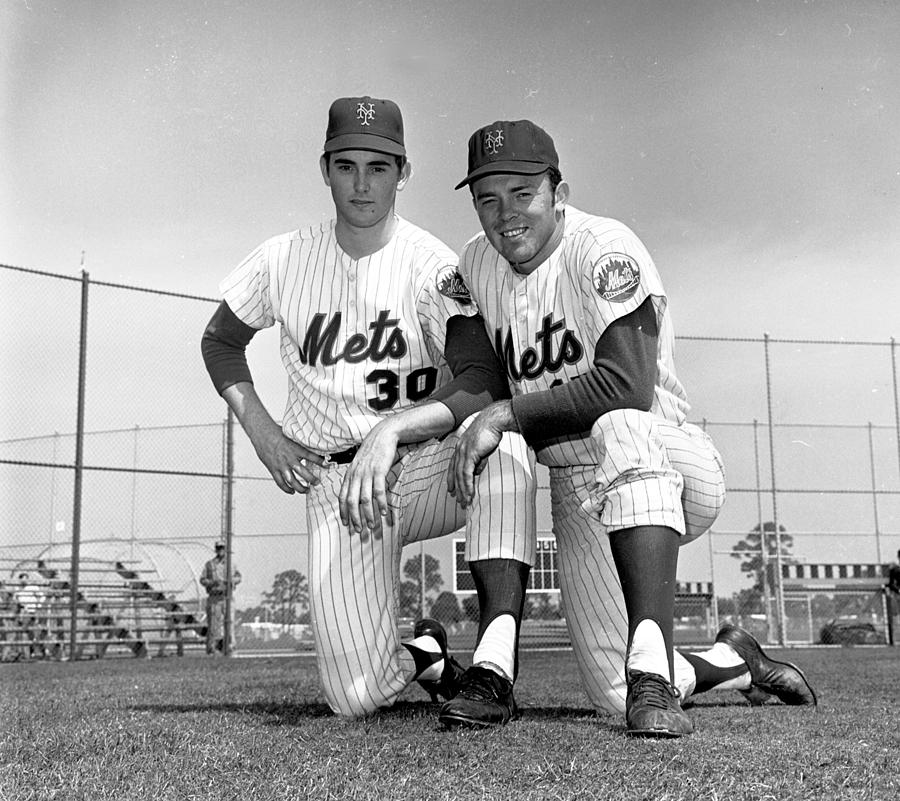 New York Mets Texas Battery Nolan Ryan Photograph by New York Daily News Archive