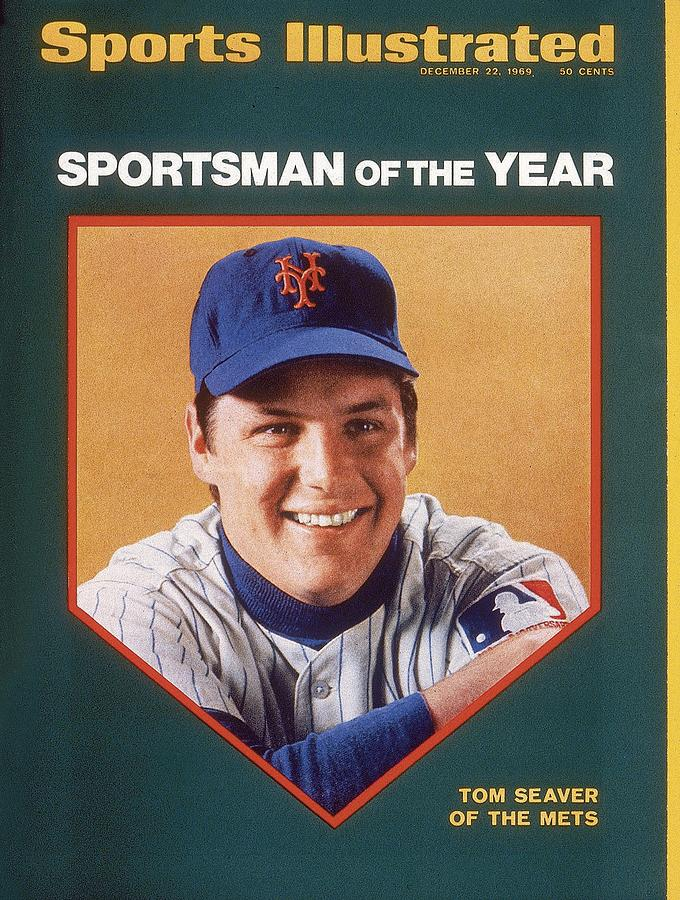 New York Mets Tom Seaver Sports Illustrated Cover Photograph by Sports Illustrated