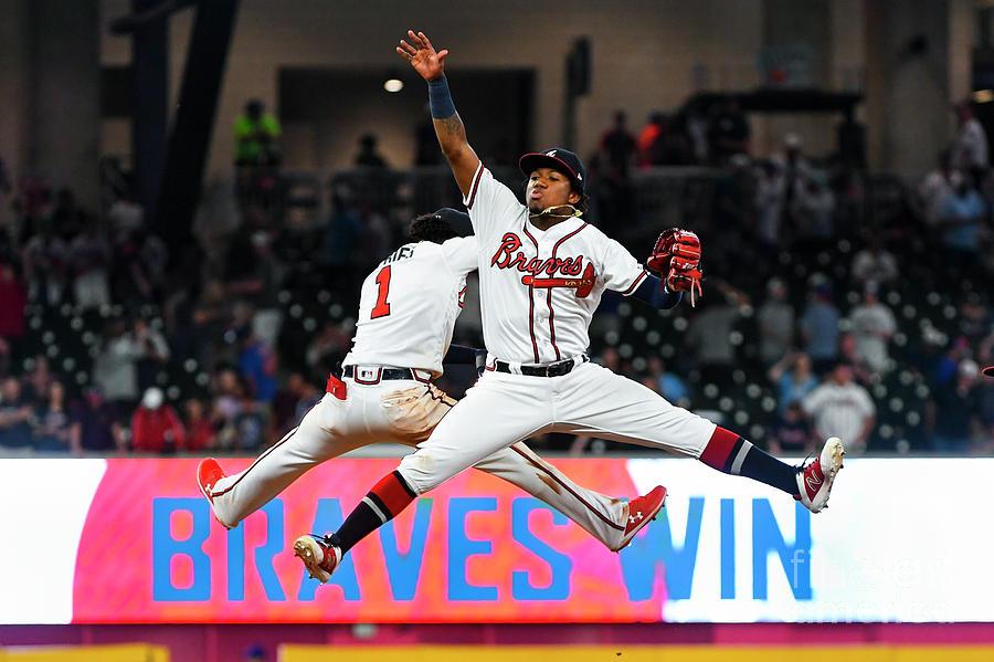 New York Mets V Atlanta Braves Photograph by John Amis