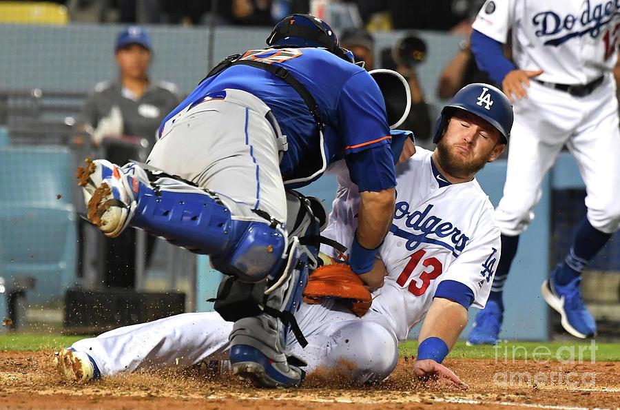 New York Mets V Los Angeles Dodgers Photograph by Jayne Kamin-oncea