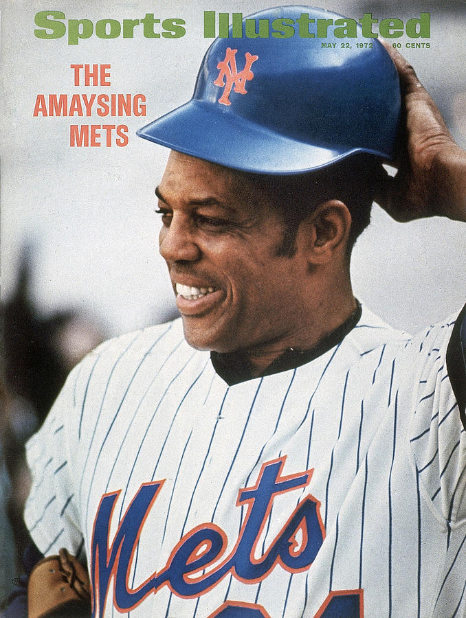 New York Mets Willie Mays Sports Illustrated Cover Photograph by Sports Illustrated