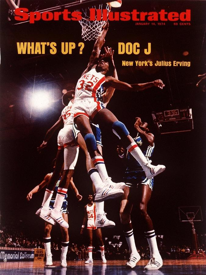 New York Nets Julius Erving Sports Illustrated Cover Photograph by Sports Illustrated