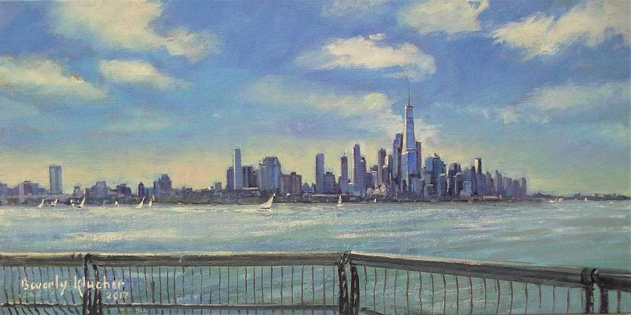 New York On The Hudson by Beverly Klucher
