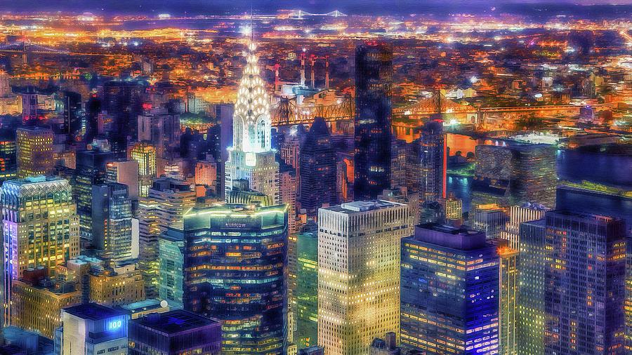 New York Panorama - 62 by Andrea Mazzocchetti