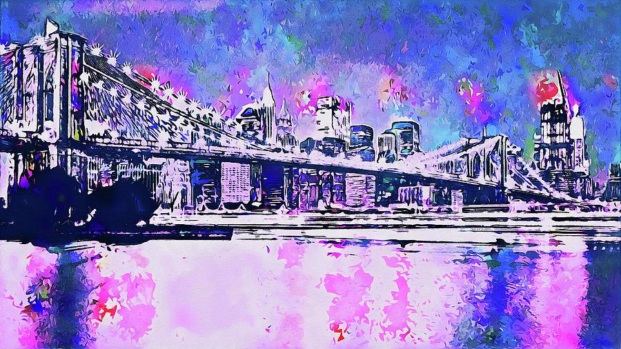 New York Panorama - 63 by Andrea Mazzocchetti