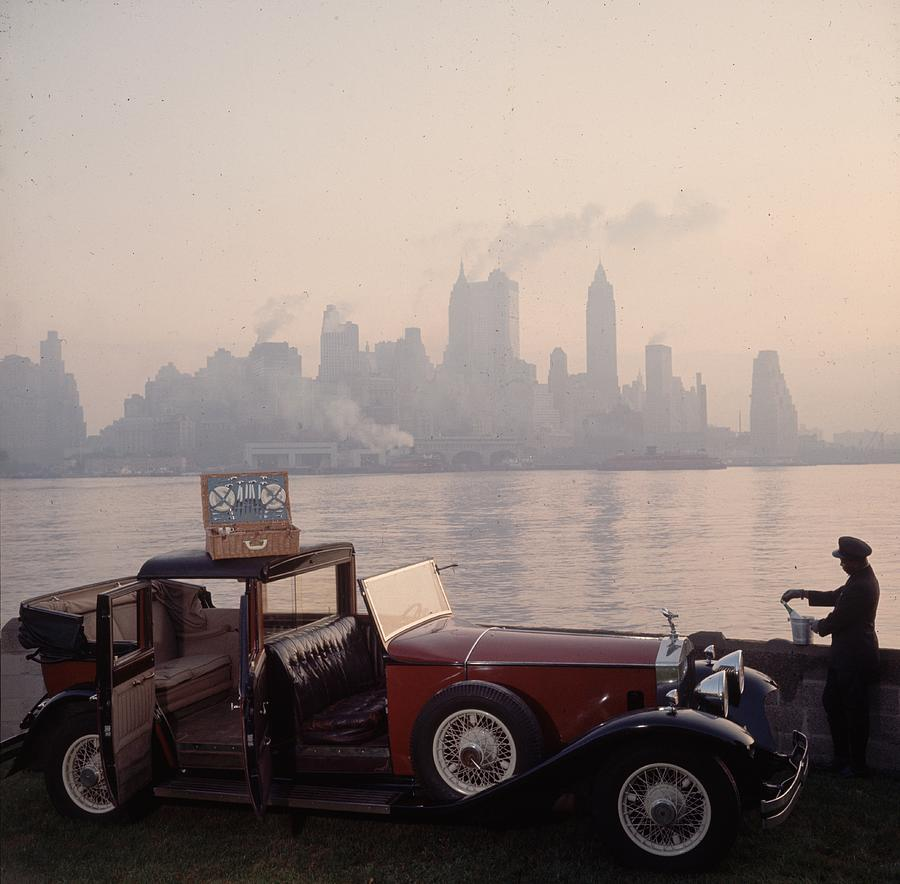 New York Picnic Photograph by Slim Aarons