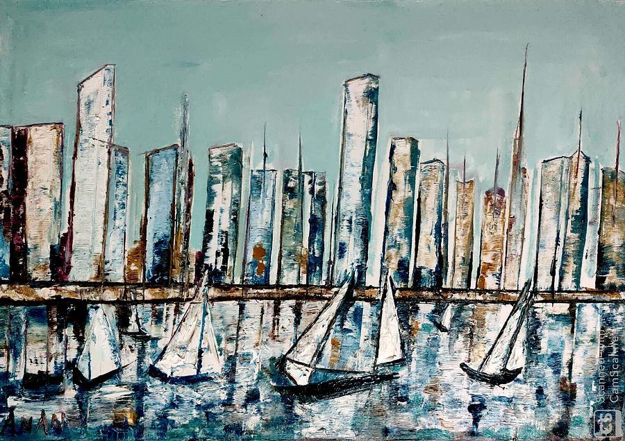 NEW YORK SKYLINE by Anand Swaroop Manchiraju