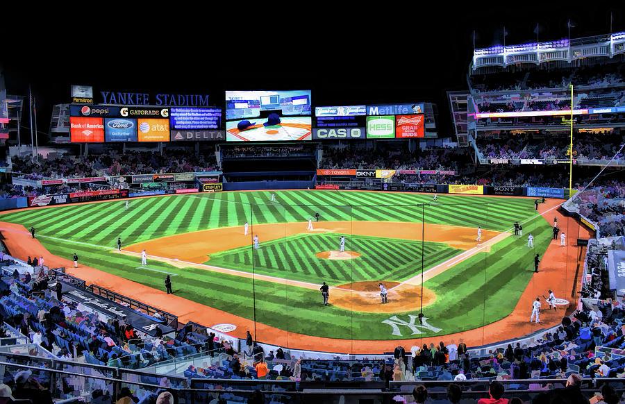 New York Yankees Stadium Baseball