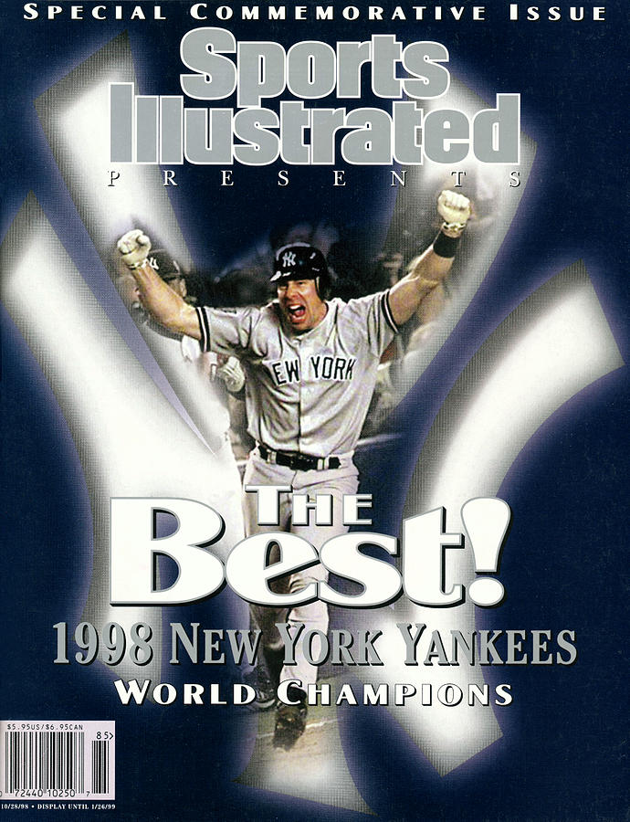New York Yankees, 1996 World Series Champions Sports Illustrated Cover Photograph by Sports Illustrated