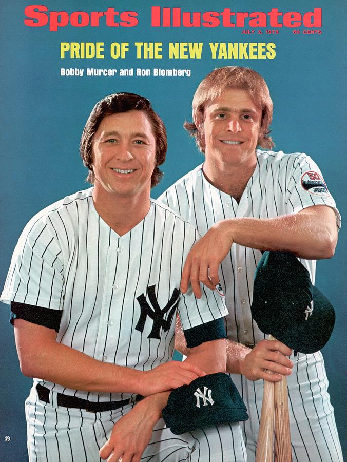 New York Yankees Bobby Murcer And Ron Bloomberg Sports Illustrated Cover Photograph by Sports Illustrated