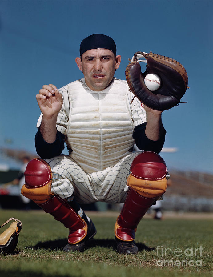 New York Yankees Catcher Yogi Berra Photograph by Bettmann